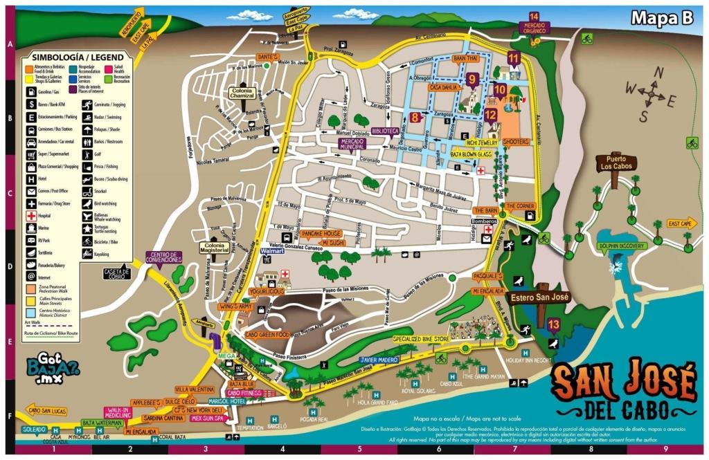 Mapa San Jose del Cabo