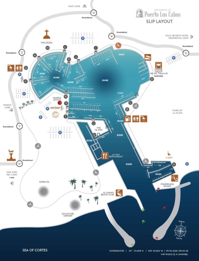 PLC Marina Map